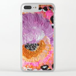 New Palette Clear iPhone Case