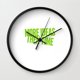 I Am Creative Wall Clock