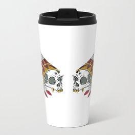 Geronimo's Head Metal Travel Mug