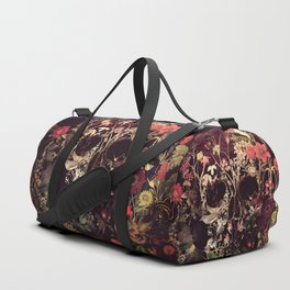 Bloom Skull Duffle Bag