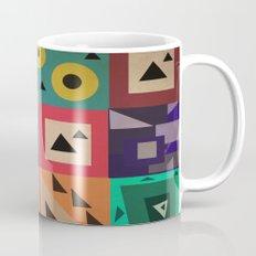 crazy triangles Mug