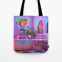 Forever 80's Tote Bag