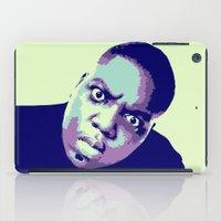 biggie smalls iPad Cases featuring Biggie by victorygarlic - Niki