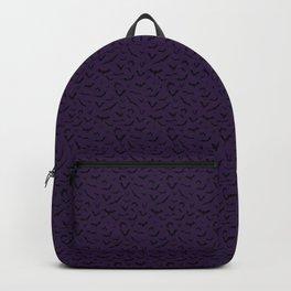 Bats - Halloween - Purple Backpack