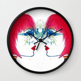 Red Spice  Wall Clock