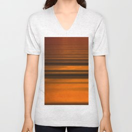 Fatigued ~ Abstract Unisex V-Neck