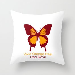 Ulysses Butterfly 2 Throw Pillow