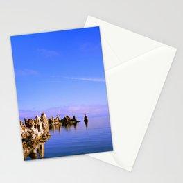 Reflections at Mono Lake Stationery Cards