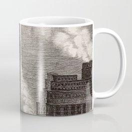 Harlem Renaissance Masterpiece 'NYC Skyscrapers' by Isac Friedlander Coffee Mug