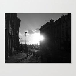 Shinning Canvas Print