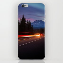 Curvy Mountain Road iPhone Skin