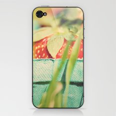 strawberry fields forever ...  iPhone & iPod Skin
