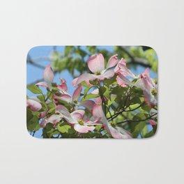 Pink dogwood 3 #spring #easter Bath Mat