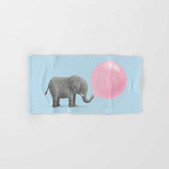 Jumbo Bubble Gum  Hand & Bath Towel