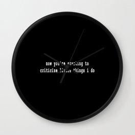 That Lovin feeling Wall Clock