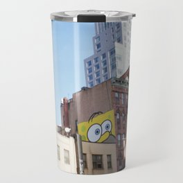 SpongeHomer x L.E.S. Travel Mug