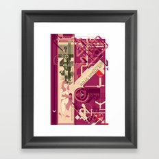Phallic Attachment Framed Art Print