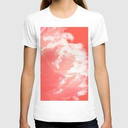 White peony T-shirt
