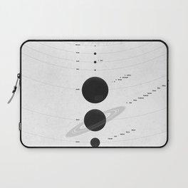 The Worlds (White) Laptop Sleeve
