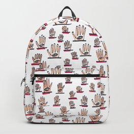 Eyes in Hand Backpack