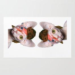Bowie Cat Rug