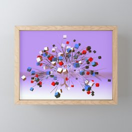 good night, sleep tight -1- Framed Mini Art Print