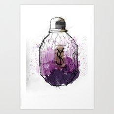 YSL Parisienne Art Print