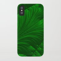 renaissance iPhone & iPod Cases featuring Renaissance Green by Charma Rose