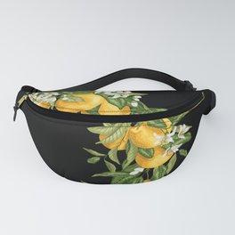 Citrus Orange Wreath with flowers Fanny Pack