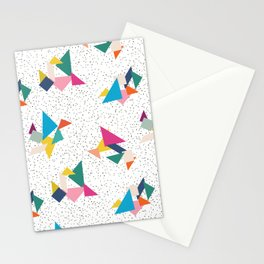 Deconstructed Tangrams Stationery Cards