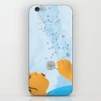 coconut wishes iPhone & iPod Skins featuring Wishes by Lacey Jae