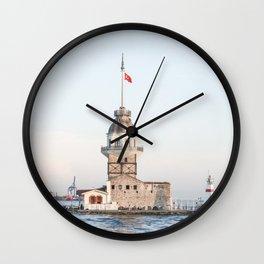 Istambul Island Lighthouse Wall Clock