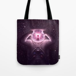 The mind blown Tote Bag