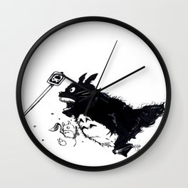 """BUS STOP"" Wall Clock"