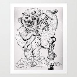 Box-O-Trolls Art Print