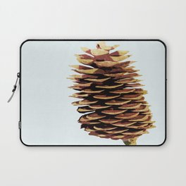 Simple Modern Pinecone Digital Art Laptop Sleeve