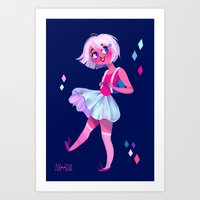 bubblegum Art Prints featuring Bubblegum by Anoosha Syed