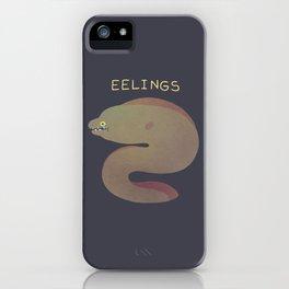 Eelings iPhone Case