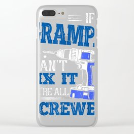 If Grampa cant fix it then were screwed dad T-Shirt Gifts Clear iPhone Case