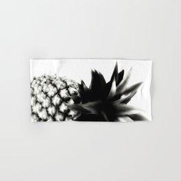 Black Pineapple Hand & Bath Towel