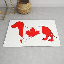 Canada Dachshund Rug