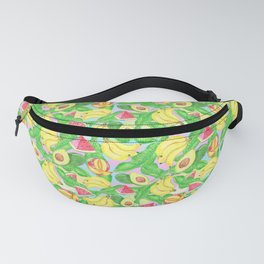 Tropical fruits Fanny Pack