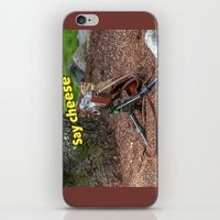 photographer iPhone & iPod Skins featuring Photographer by Robert Raney