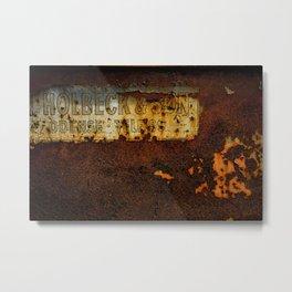 Holbeck & Son Metal Print