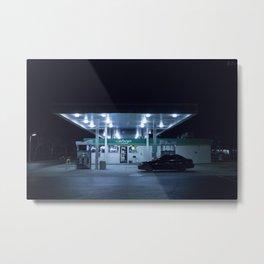 (gas'N'glow) Metal Print