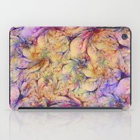 nudes iPad Cases featuring Nudes in Flowers by Klara Acel