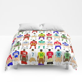 Soccer Butts Comforters