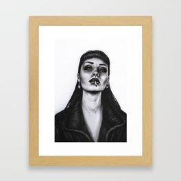 Rebel Girl Framed Art Print
