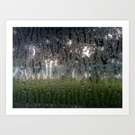 Drops and Drips Art Print