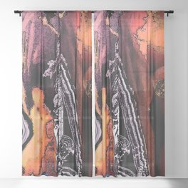 Connection Sheer Curtain